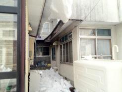隣家からの落雪被害