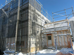 住宅の外覆工事