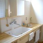 家具型オリジナル洗面ユニットへのリフォーム例
