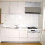 壁置I型キッチンへのリフォーム例